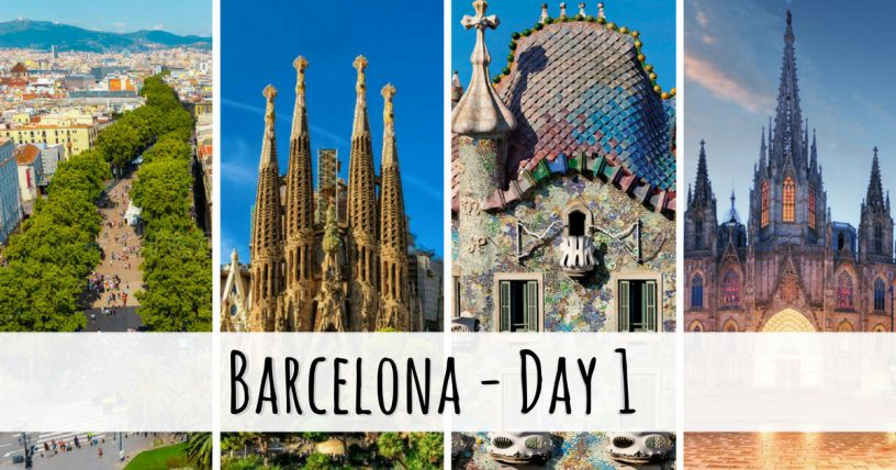 Things to see in Barcelona in a day