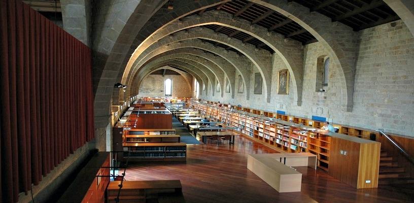 Biblioteca Catalunya Barcelona
