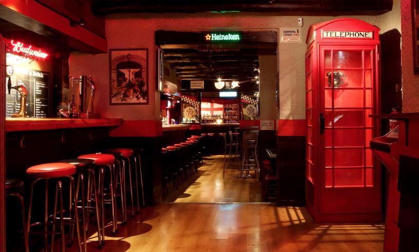 Älteste englische Bar
