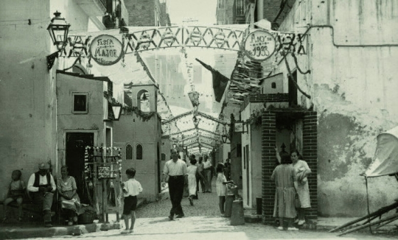 Festa Major in Gracia, 1933