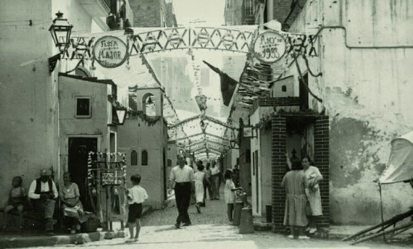 Festa Major in Gracia, 1933