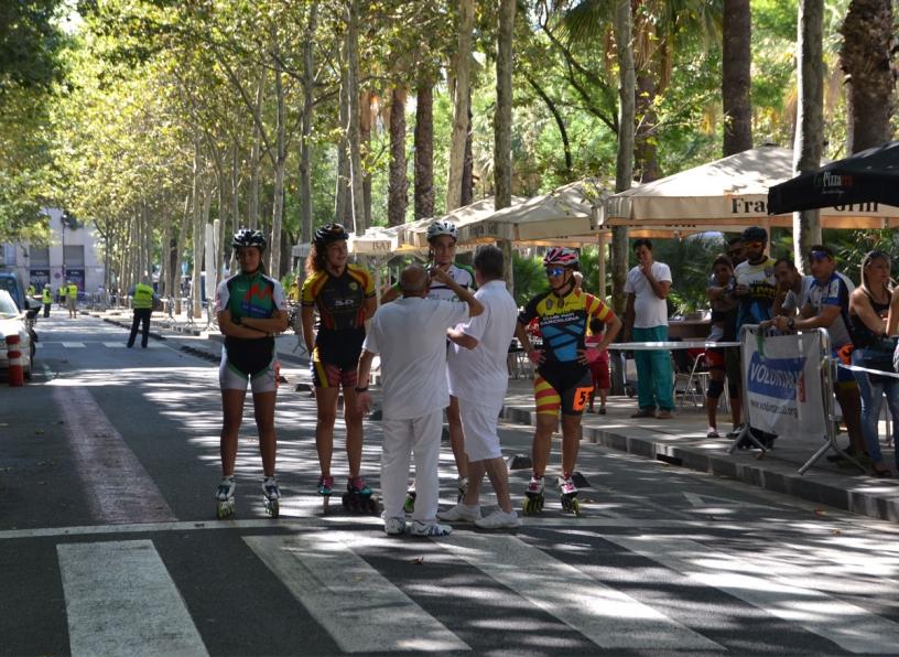 Забег на роликах и велосипедах в Равале