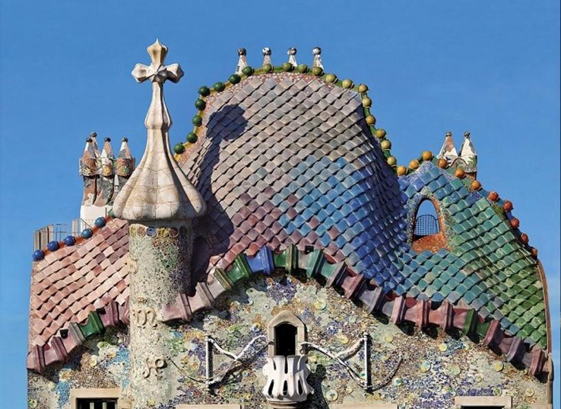 Casa Batlló su Passeig de Gracia