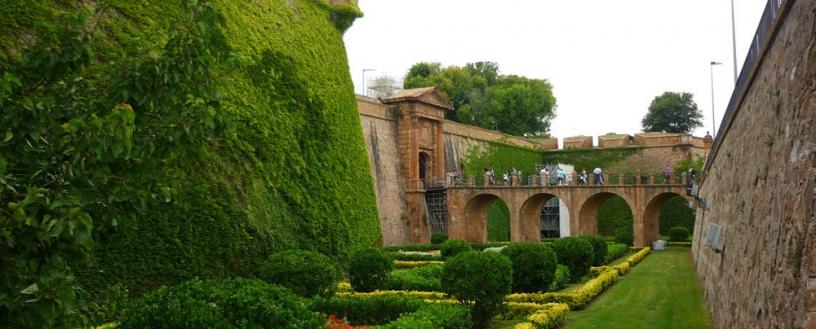 Das Montjuïc Schloss, Barcelona