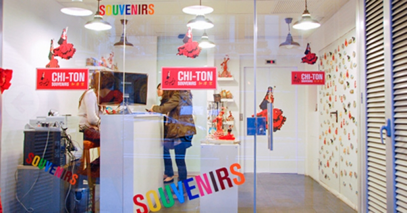 Chi Ton Souvenir Shop in Barcelona
