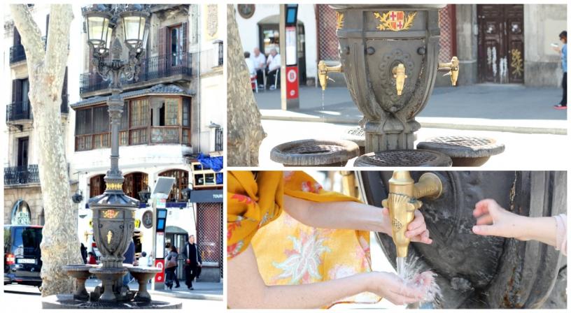 Images de la fontaine de Canaletas