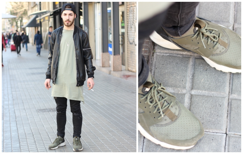 Look Casual verde