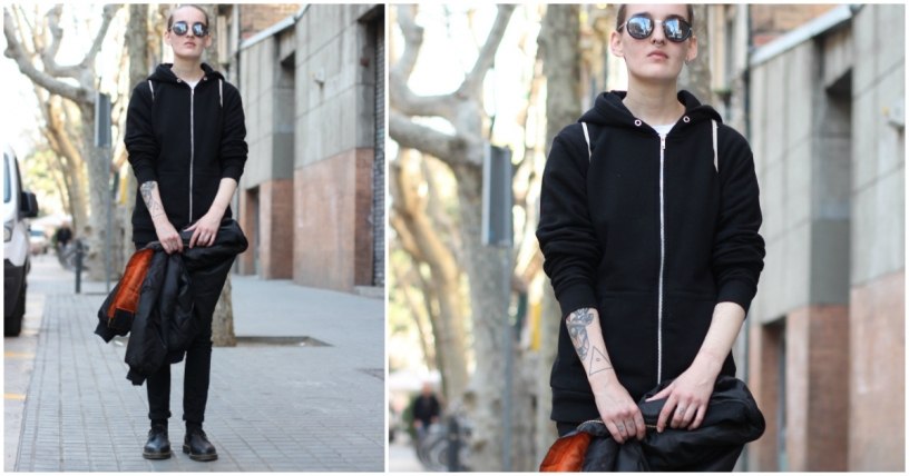 Soft Grunge fashion style in Barcelona