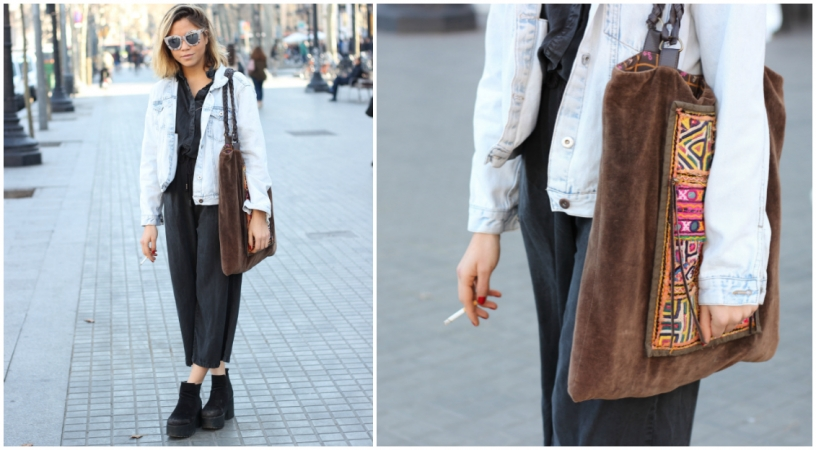 Indie style fashion in Barcelona