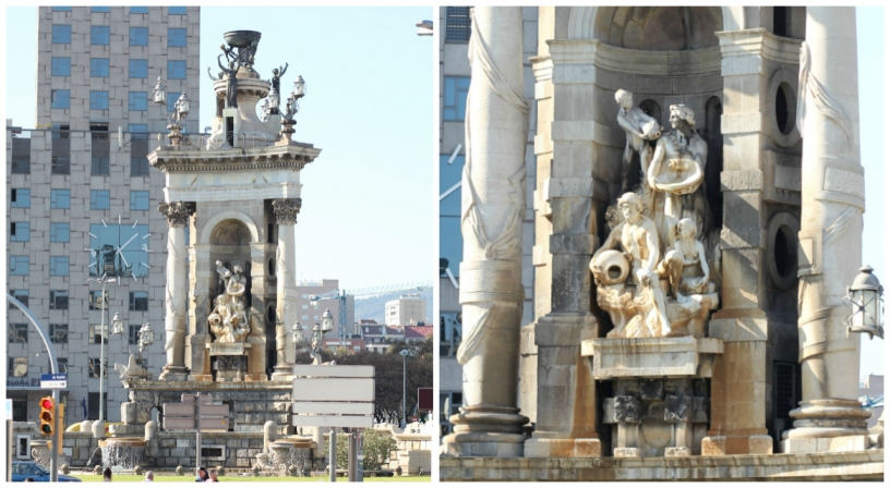 Monumental Fountain, Plaça d'Espanya