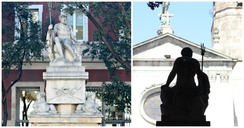 Images de la fontaine de Neptune