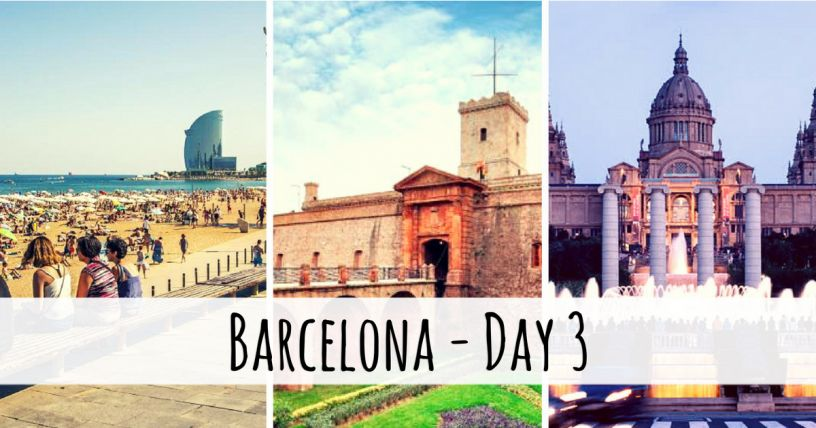 Places to visit in Barcelona in three days