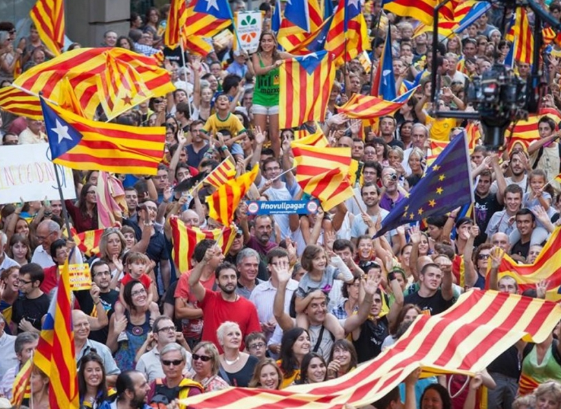 Fête nationale de la Catalogne 2012