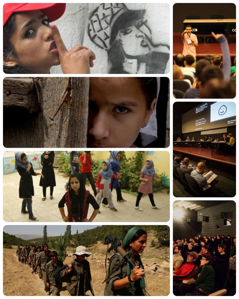 DocsBarcelona - Vorstellung der Filme, Fragen, Konferenzen und viel mehr!
