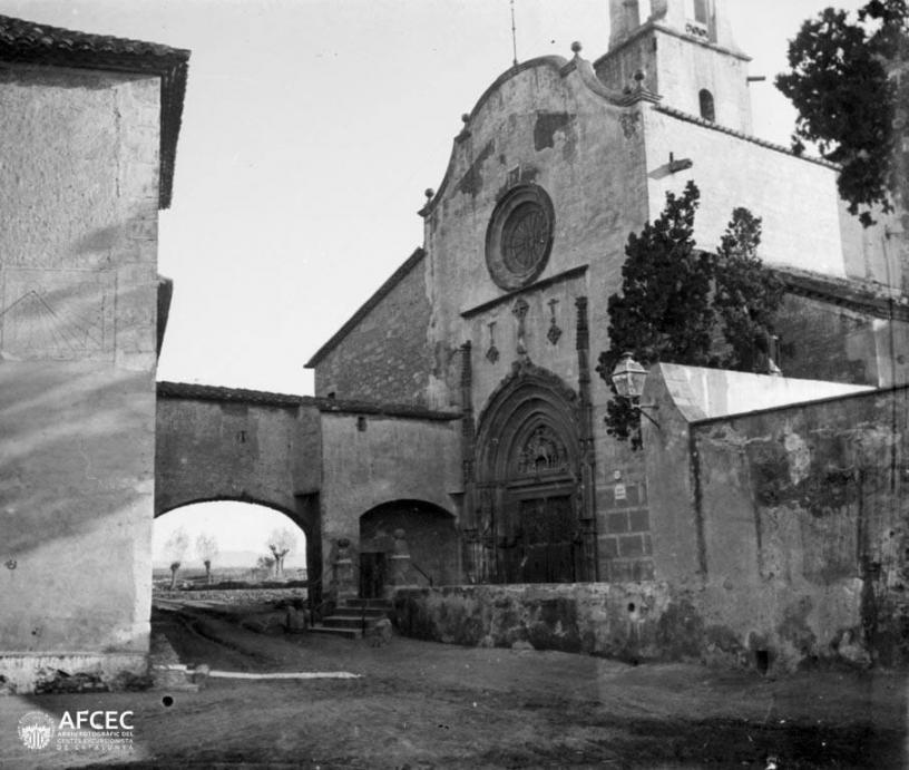 L'église de Sant Marti 1899-1910