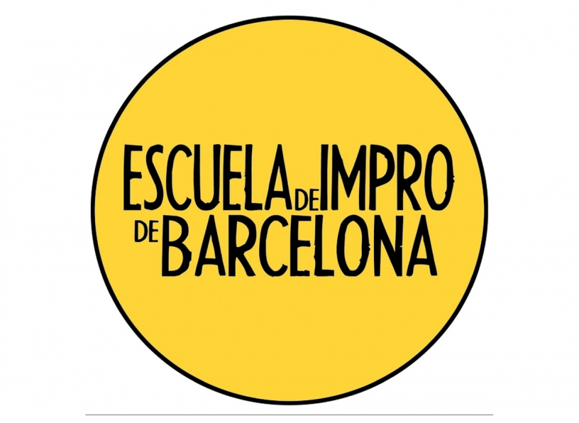 Logo of the Impro School of Barcelona
