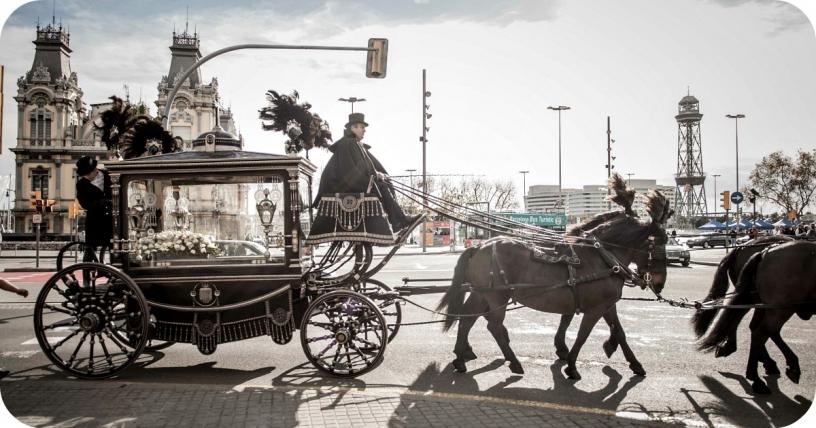 Kutsche in Barcelona