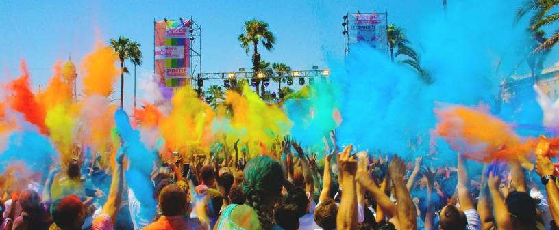 Farben Festival in Barcelona