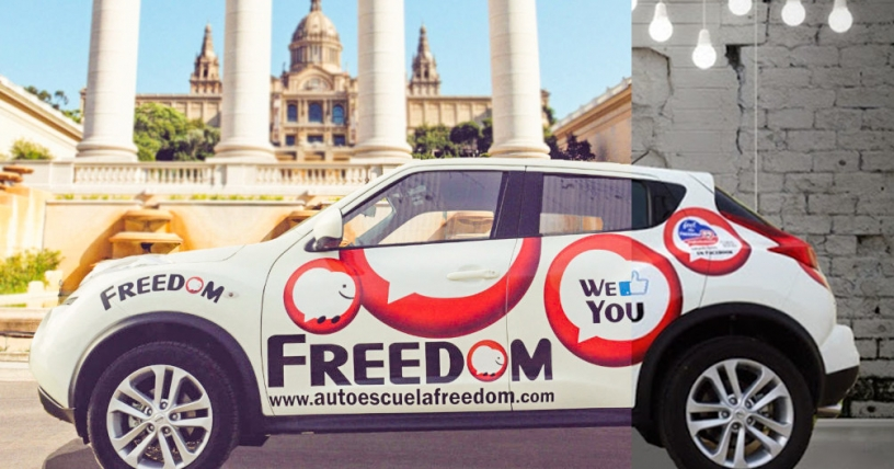 Freedom driving school, Barcelona