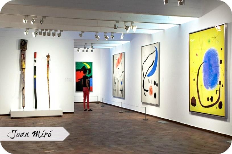 Fundació Joan Miró in Barcellona