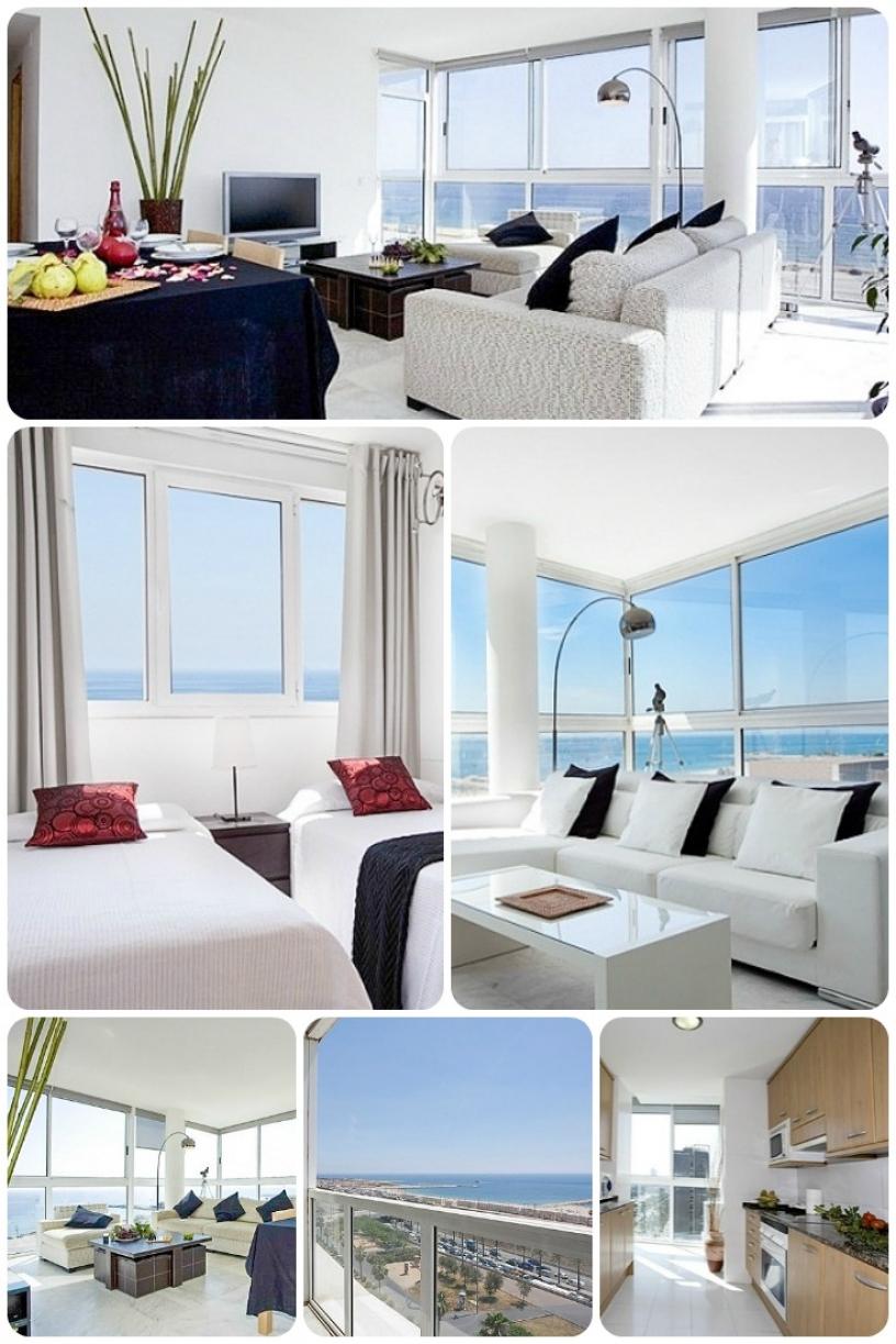 Квартира Garcia Beach в Барселоне