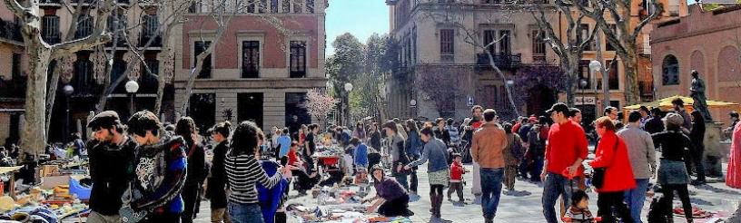 Plaza en Gràcia