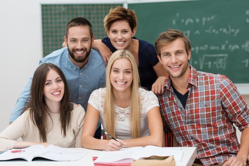 Студенты в Сант Андреу