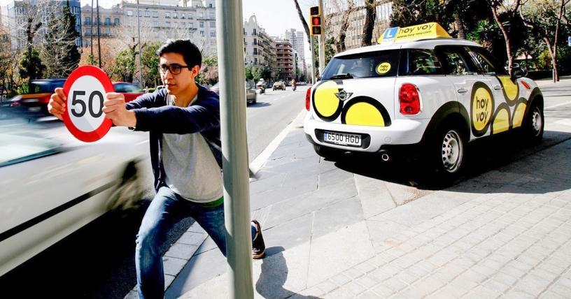 Hoy-voy driving school in Barcelona