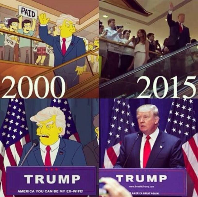 Trump Simpson