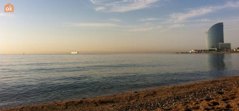 Barcellona spiaggia mare estate