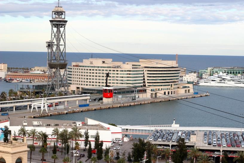 Miramar Montjuïc et ses vues sur la plage et funiculaire