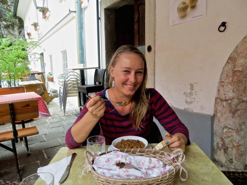 Slowenien Rapunzel will raus