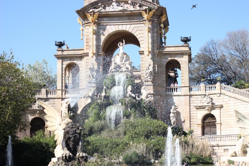Parc de la Ciutadelle Fountain