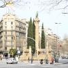 Square Jacint Verdaguer Barcelona