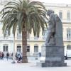 Joan Salvat Papasseit Statue Barcelona