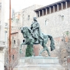Plaza Ramon Berenguer Statue Barcelona