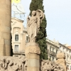 Statues Verdaguer Square