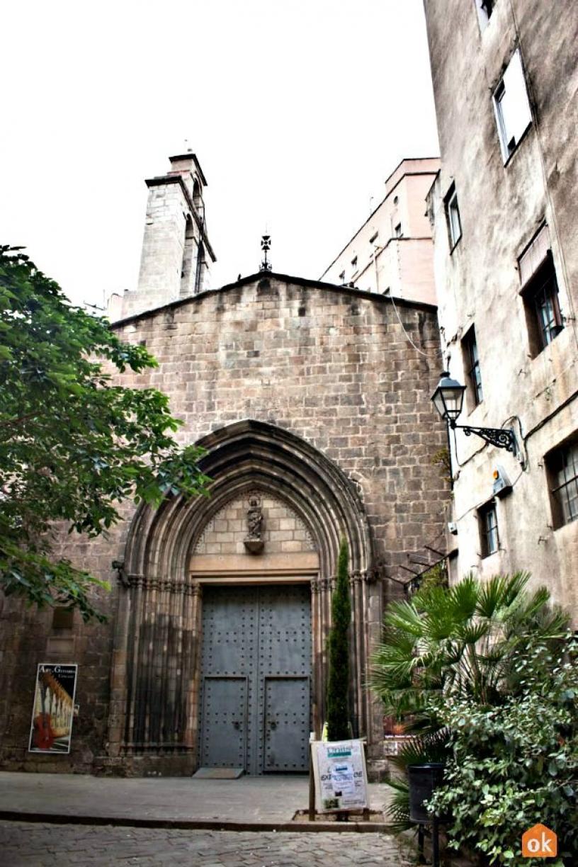 Eglise de Santa Anna Barcelona