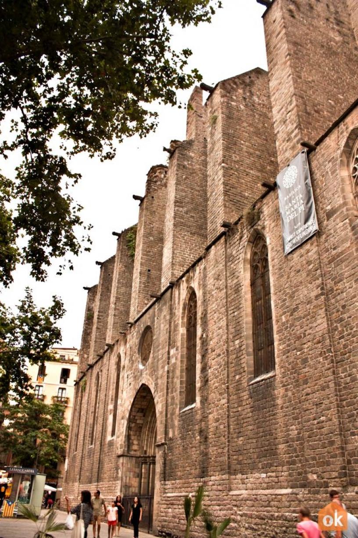 Santa Maria del Pi Barcelona