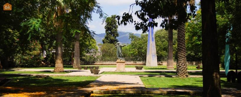 Skulpturen in Montjuïc