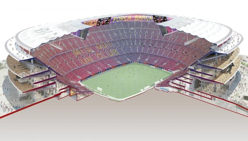 Het nieuwe Camp Nou