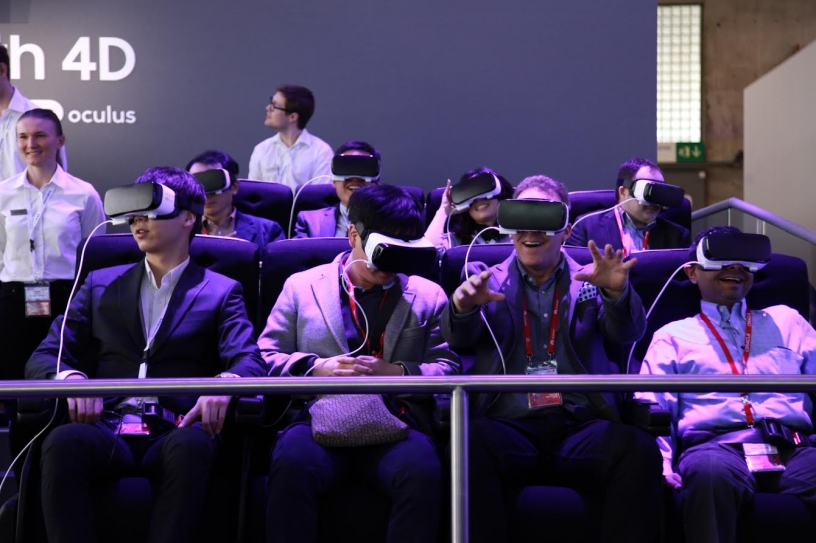 Virtual reality at Mobile World Congress