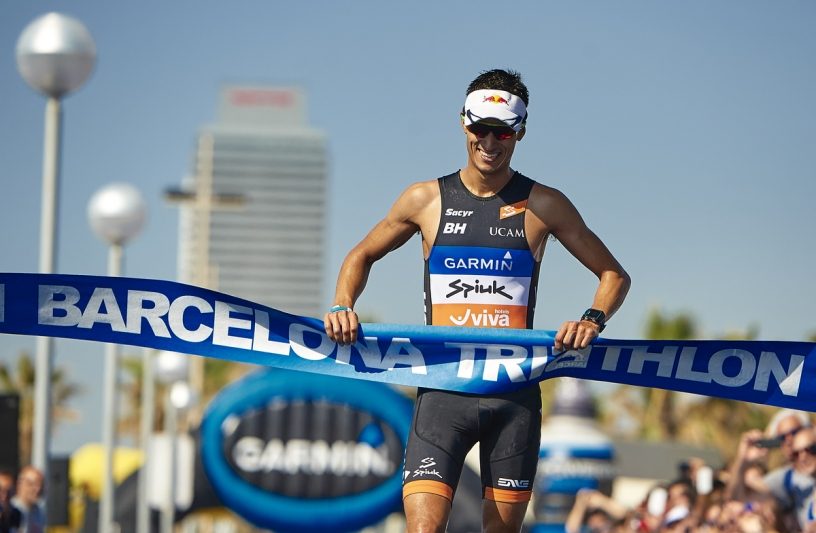 Triathlon Barcelona 2017 finish