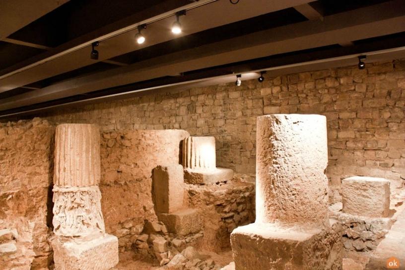 Colonne romane MUHBA Barcellona