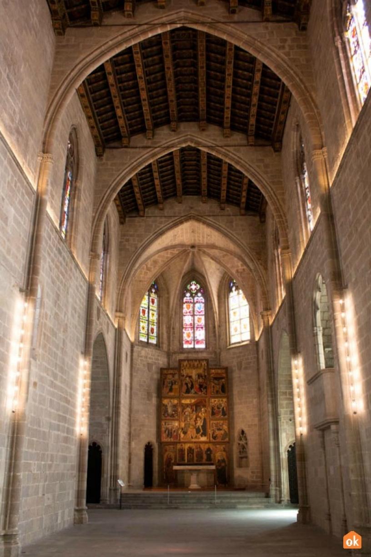 Церковь музея MUHBA Барселона