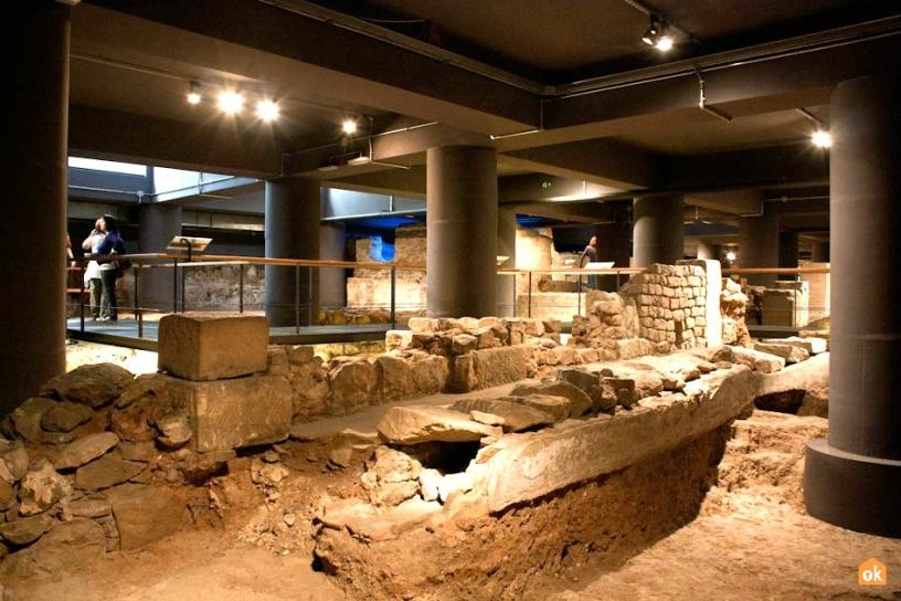 Archäologische Ausgrabung MUHBA Barcelona