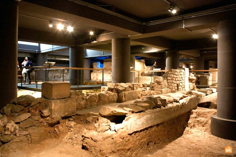 Археологические раскопки MUHBA Барселона