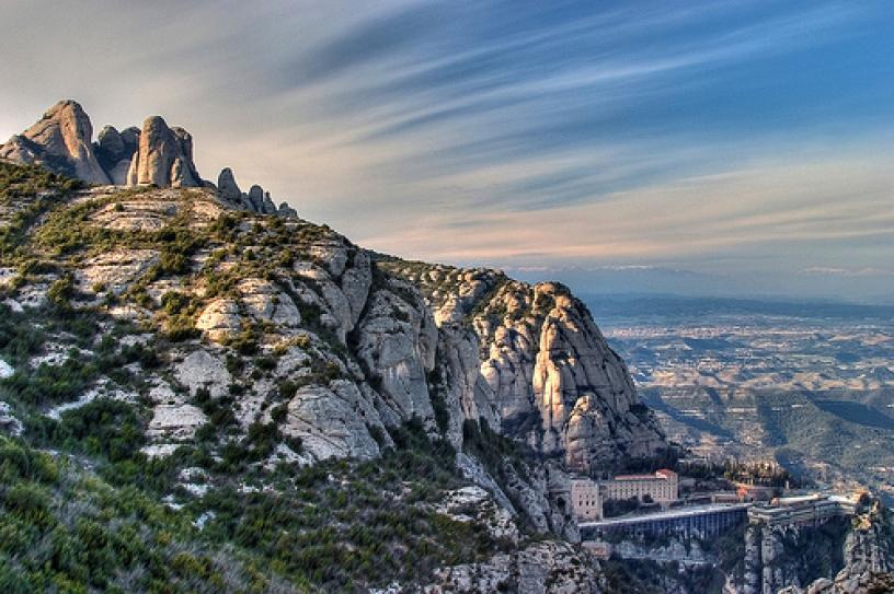 Montserrat Berg Katalonien