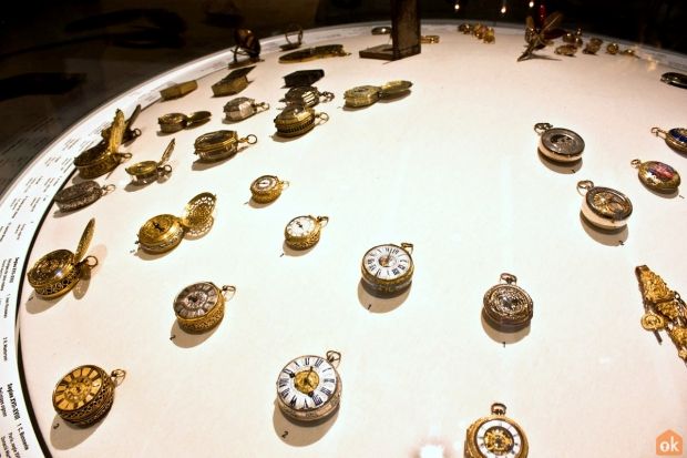 Pocket watches at the Design Museum Barcelona