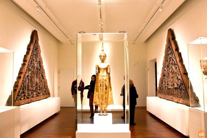 Коллекция Азия в Музее Мировых Культур в Барселоне